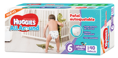 Huggies All Around E6 | Pañales | All Around - Bebe2go.com