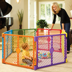 Corral Portatil  Superyard Color Play - bebe2go.com  - 1