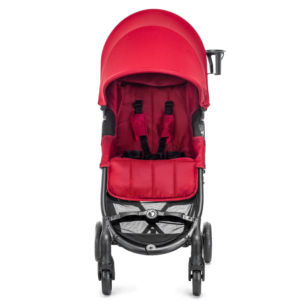 Carriola City Mini Zip Roja | Carriolas Sencillas | Baby Jogger - Bebe2go.com