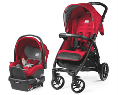 Carriola Booklet Travel System - Rojo
