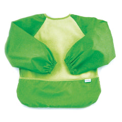 Fleece Sleeved Bib Verde - bebe2go.com  - 1