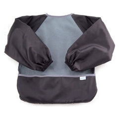 Fleece Sleeved Bib Gris - bebe2go.com  - 1