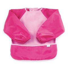 Fleece Sleeved Bib Rosa - bebe2go.com  - 1