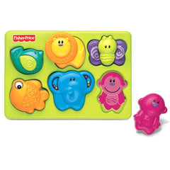Growing Baby Rompecabezas de Animales | Accesorios | Fisher Price - Bebe2go.com