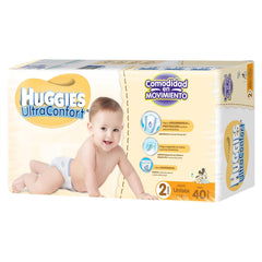 Huggies Ultraconfort E2 Paq. 40