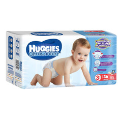 Huggies Ultraconfort E3 Niño Paq. 36