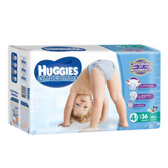 Huggies Ultraconfort E4 Niño Paq. 36