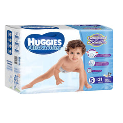 Huggies Ultraconfort E5 Niño Paq. 31