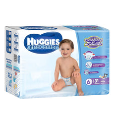 Huggies Ultraconfort E6 Niño Paq. 31
