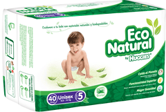 Huggies Eco Natural E5 (40 pañales) - bebe2go.com
