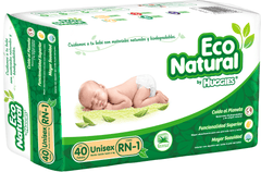 Huggies Eco Natural E1 (40 pañales) - bebe2go.com  - 1