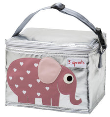 Lunch Bag 3 Sprouts Elefante Rosa - bebe2go.com