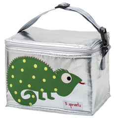 Lunch Bag 3 Sprouts Iguana Verde - bebe2go.com