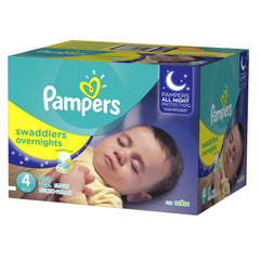 Pampers Swaddlers Overnight Etapa 4 - 62 Pañales - bebe2go.com