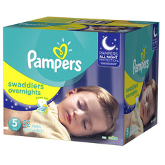 Pampers Swaddlers Overnight Etapa 5 - 52 Pañales - bebe2go.com
