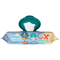 Toallitas Pampers Baby Fresh Pop Top 64pz | Toallitas | Pampers - Bebe2go.com
