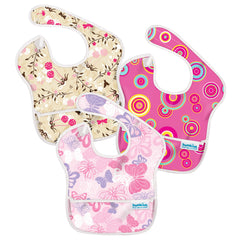 Super Bib 3 pack (6-24 meses)  - Girl - bebe2go.com  - 1