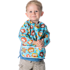 Sleeved Bib Bumpkins (6-24 meses) - Forest Friends - bebe2go.com  - 2