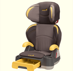 Auto Asiento Booster Convertible Gris