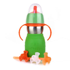 Safe Sippy 2 Verde 11 oz.(330 ml.) - bebe2go.com