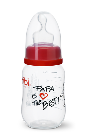 Biberón Anticólicos Cuello Estándar 125 ml. Comfort - Papa is the Best | Biberones | Bibi - Bebe2go.com