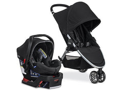 Travel System 2017 B-Agile 3 /B-Safe 35 Elite 2015- Domino | Travel System | Britax - Bebe2go.com