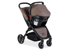 Travel System B-Agile 4W/B-Safe 35 - Fossil Brown - bebe2go.com  - 2