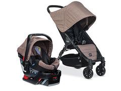 Travel System B-Agile 4W/B-Safe 35 - Fossil Brown - bebe2go.com  - 1