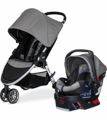 Travel System 2017  B-Agile 3/B-Safe 35-Steel | Travel System | Britax - Bebe2go.com