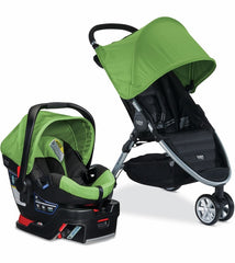 Travel System 2016  B-Agile 3/B-Safe 35 - Meadow - bebe2go.com  - 4