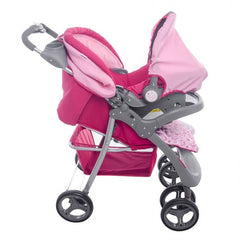 Carriola 4 En 1 Messina  Hello Kitty - bebe2go.com