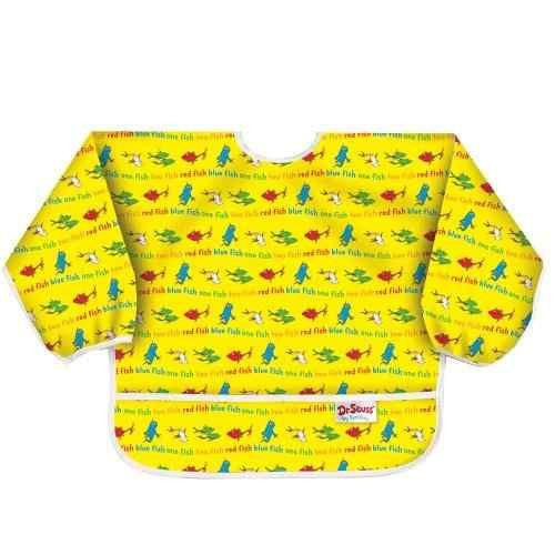 Manga Larga Art Smock (3-5 años) -Yellow Fish
