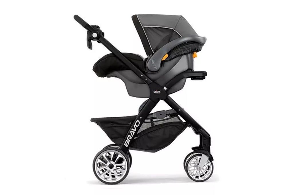 Chicco Carriola Bravo Travel System Papyrus, Color Gris