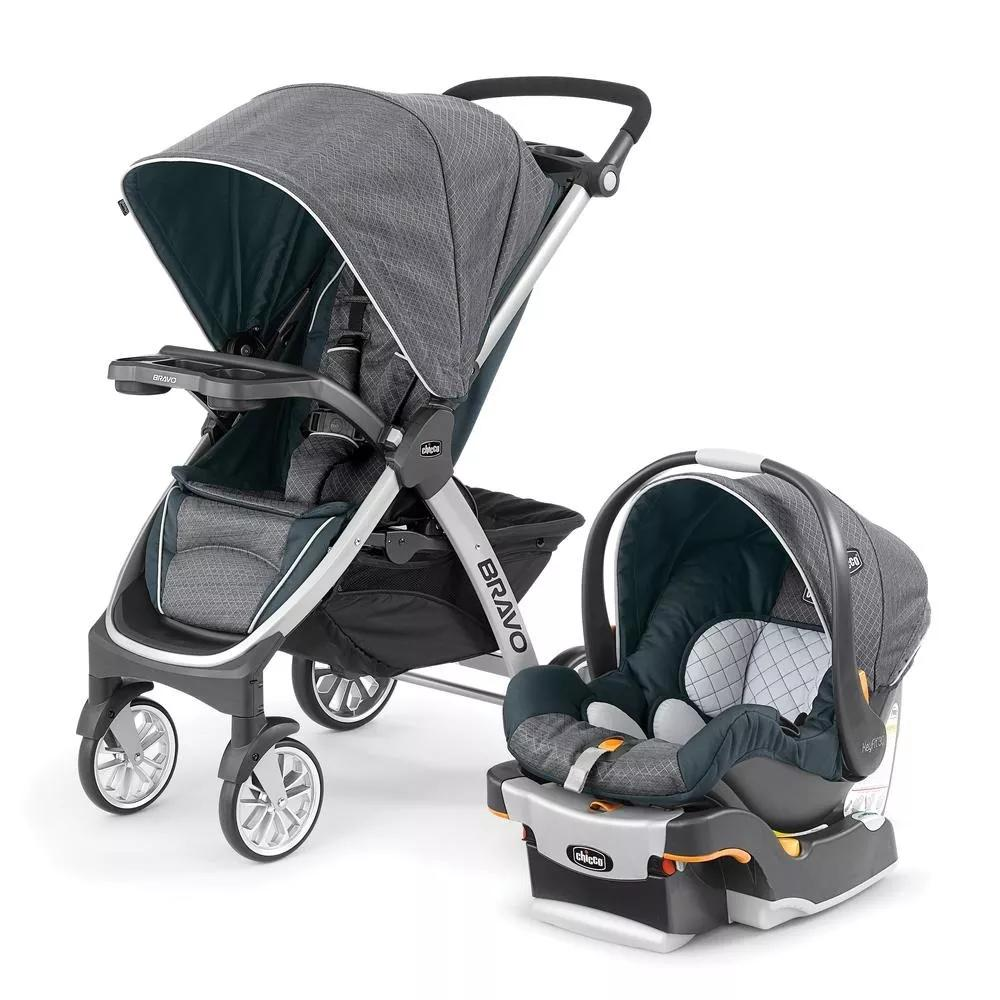 chicco carriola bravo travel system poetic color gris. Black Bedroom Furniture Sets. Home Design Ideas