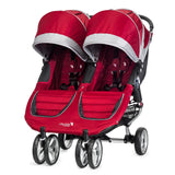 Carriola City Mini Double Rojo con Gris | Carriolas Dobles y Gemelares | Baby Jogger - Bebe2go.com