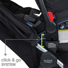 Travel System 2016  B-Agile 3/B-Safe 35 - Meadow | Travel System | Britax - Bebe2go.com