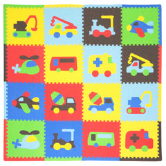 Playmat Transportes Multicolor 1.22x1.22m - bebe2go.com  - 2