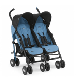 Carriola Chicco Duo Echo Twin azul | Carriolas Dobles y Gemelares | Chicco - Bebe2go.com