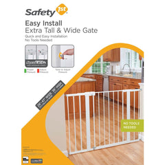 Puerta De Seguridad Easy Install Extra Tall & Wide Gate