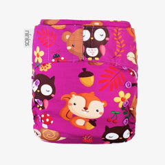 Pañal Pocket Design - Furry animals - bebe2go.com