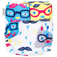 Pañal Pocket Design - Hipster Cat - bebe2go.com