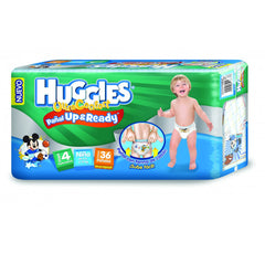 Huggies Ultraconfort Up&Ready E4 Niño Paq. 36 | Pañales | Huggies Ultraconfort U&R - Bebe2go.com