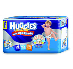 Huggies Ultraconfort Up&Ready E5 Niño Paq. 36 | Pañales | Huggies Ultraconfort U&R - Bebe2go.com