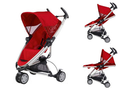 Carriola Quinny Zapp Xtra Plegable - Rebel Red | Carriolas Premium | Quinny - Bebe2go.com