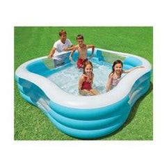 Piscina Inflable Familiar Cuadrada | Piscinas | Intex - Bebe2go.com