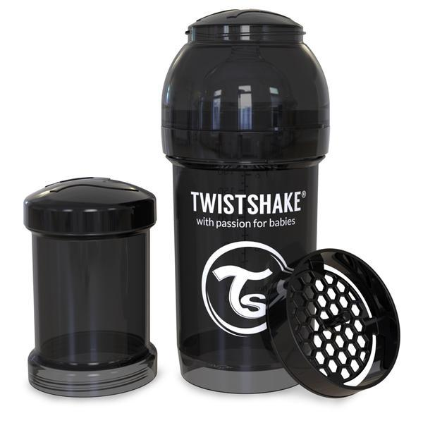 Twistshake Biberón 180ml - Negro