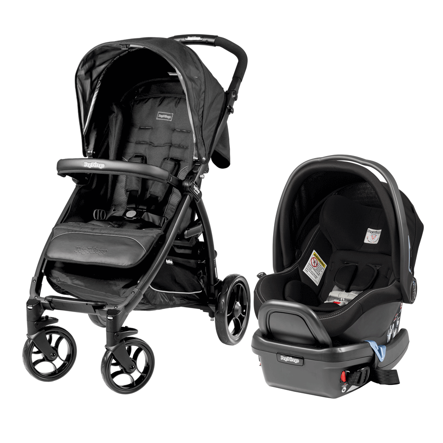 Carriola Booklet Travel System - Onyx