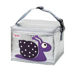 Lunch Bag 3 Sprouts Caracol Morado
