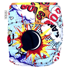 Pañal Pocket Design - Pop Art Comic - bebe2go.com