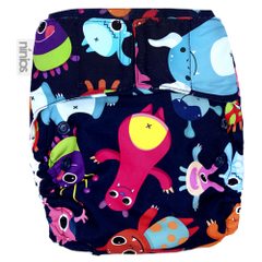 Pañal Pocket Design - Space Monster - bebe2go.com  - 1